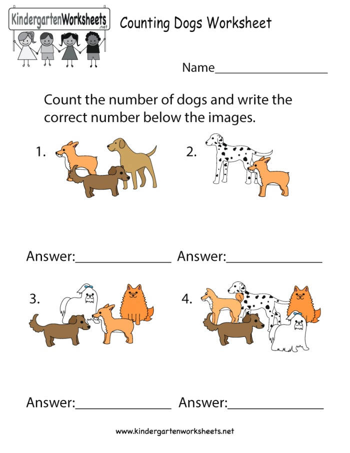 Do You Love Dogs Children Can Learn to Count and Write