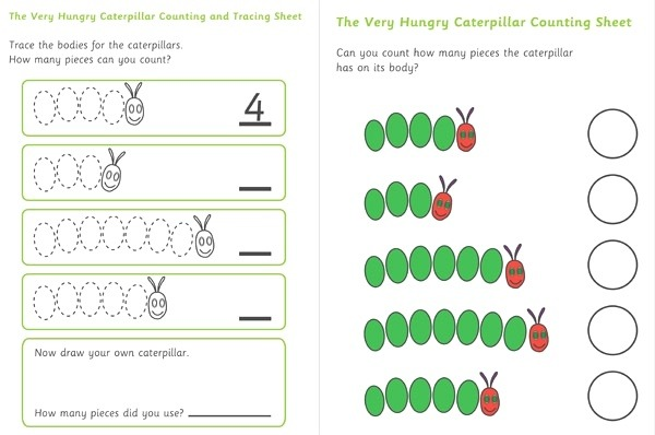 Early Learning Resources the Very Hungry Caterpillar