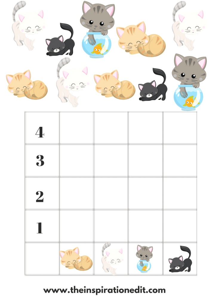 Free Preschool Fairy Graphing Worksheets for Kids · the