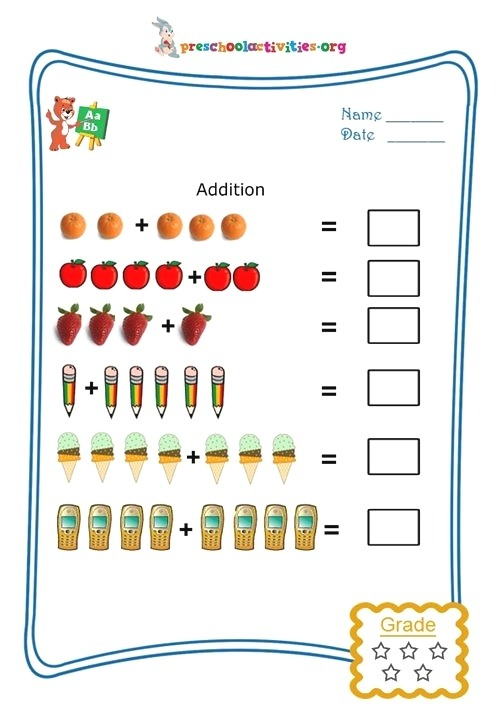 Picture Addition Kids Will Love Learning Numbers