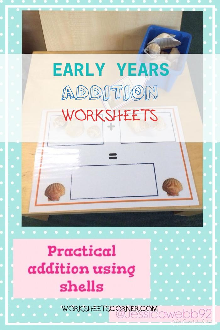 Early Years Addition Worksheets