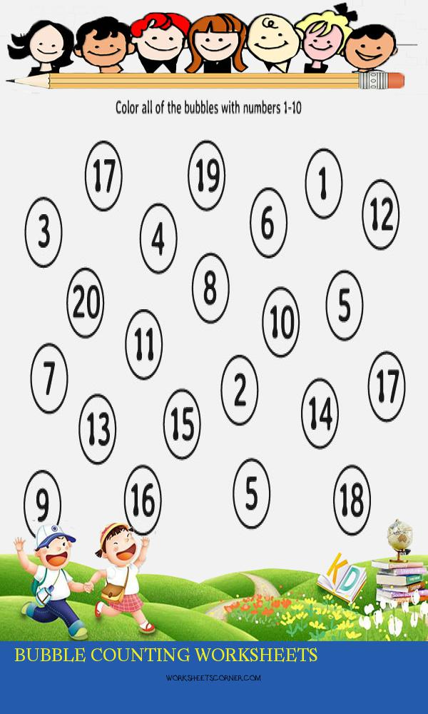 Bubble Counting Worksheets