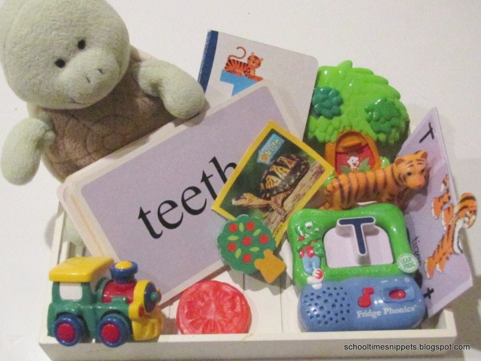 Trains Tiger & Turtles Letter T toddler Activities