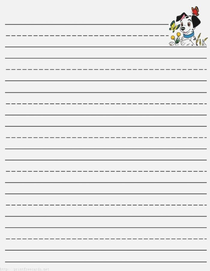 3 Lined Writing Paper