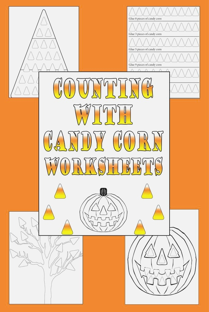 """4 Printable """"counting with Candy Corn"""" Worksheets – Supplyme"""