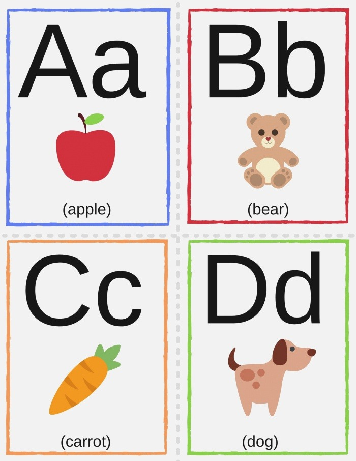 Alphabet Tracing Worksheets Games & Activities for Young