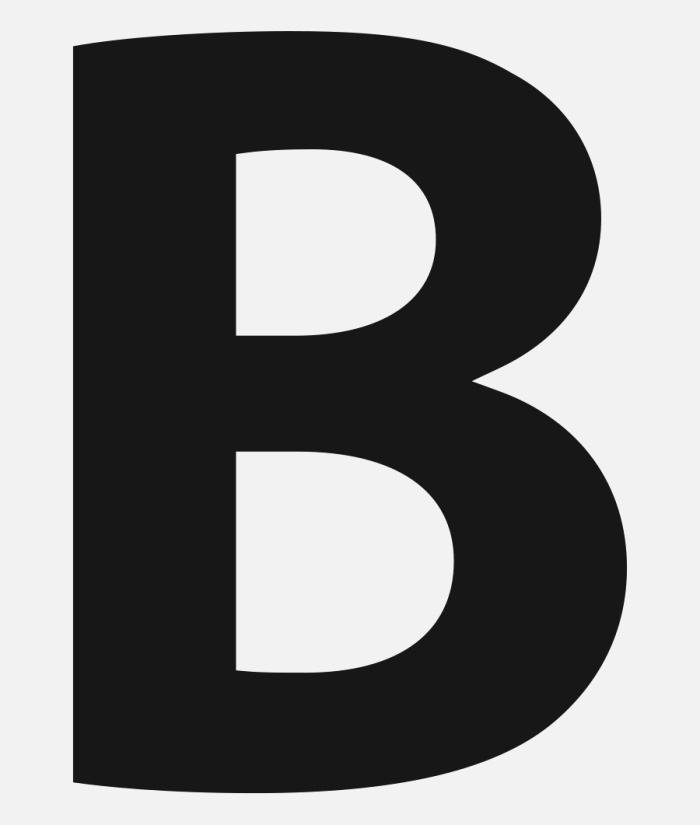 B Clipart English Letter Letter B In Bold Free