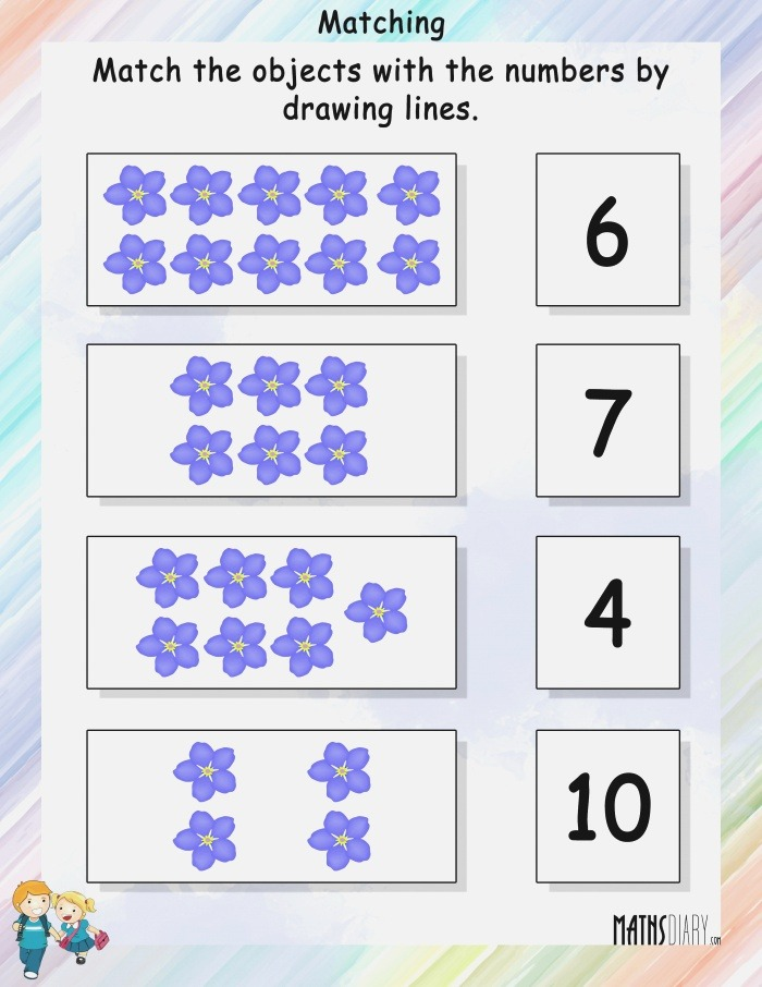 Counting – Grade 1 Math Worksheets Page 5