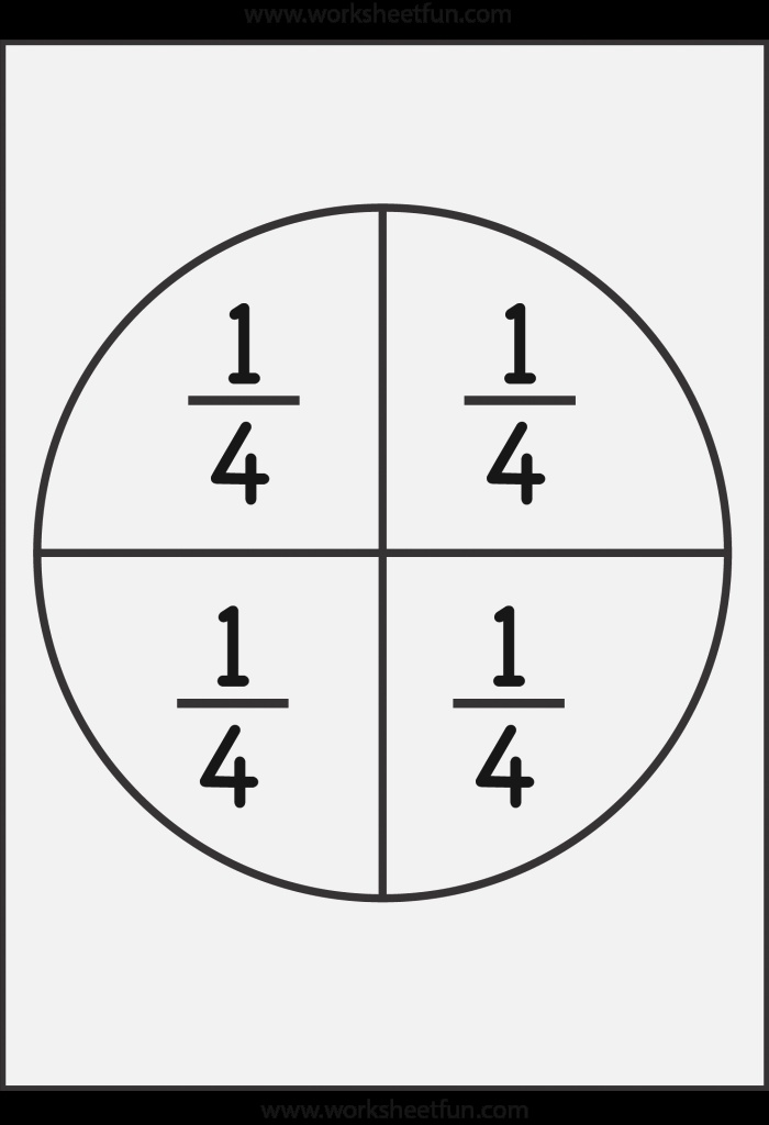 Fractions Circles and Worksheets On Pinterest