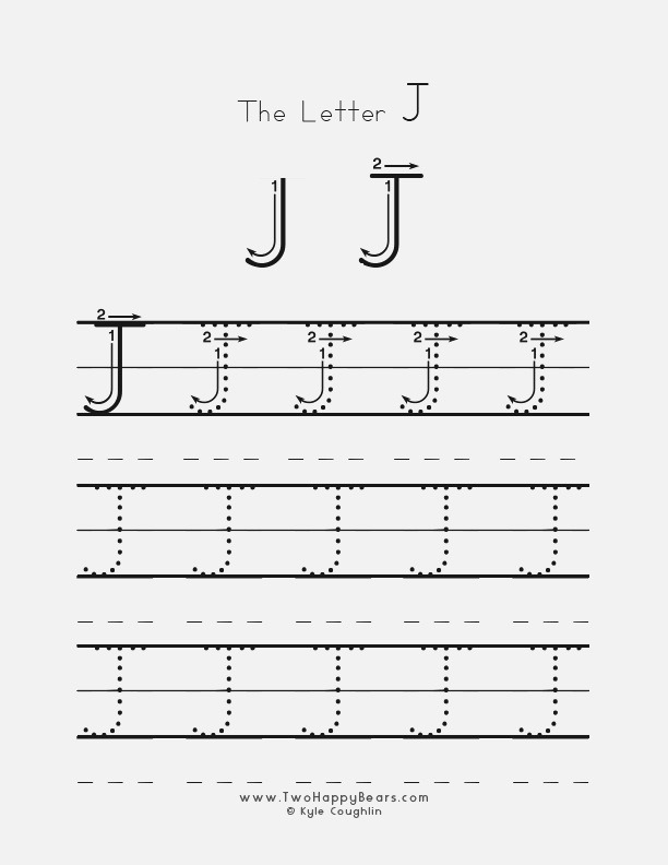 Learn the Letter J with Fluffy and Ivy