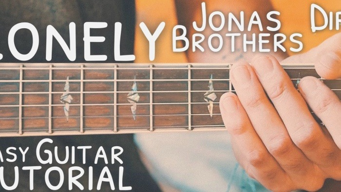 Lonely Diplo Jonas Brothers Guitar Tutorial Lonely