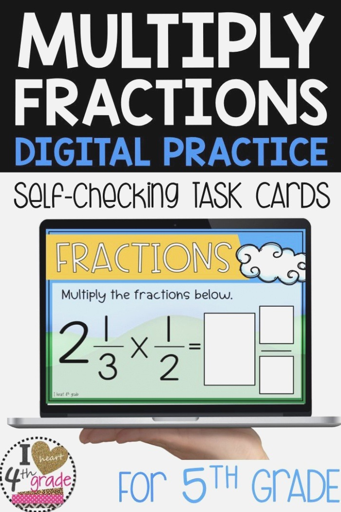Practice Multiplying Mixed Fractions and Fractions with
