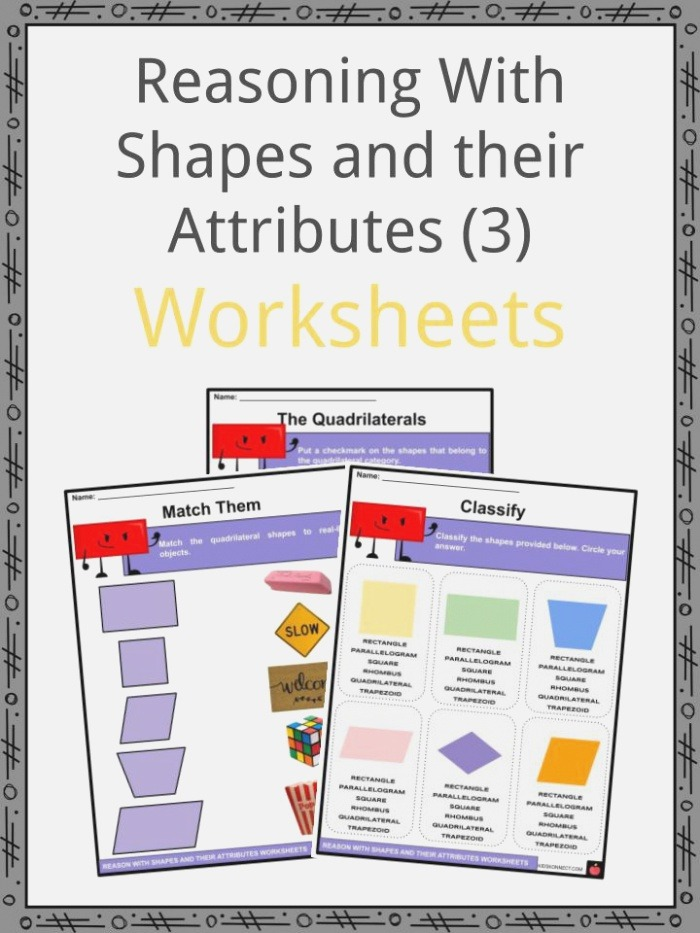 Reasoning with Shapes and their attributes Facts
