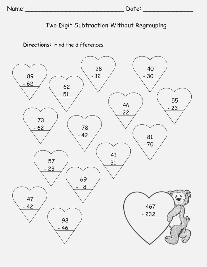 Valentines Worksheets Best Coloring Pages for Kids