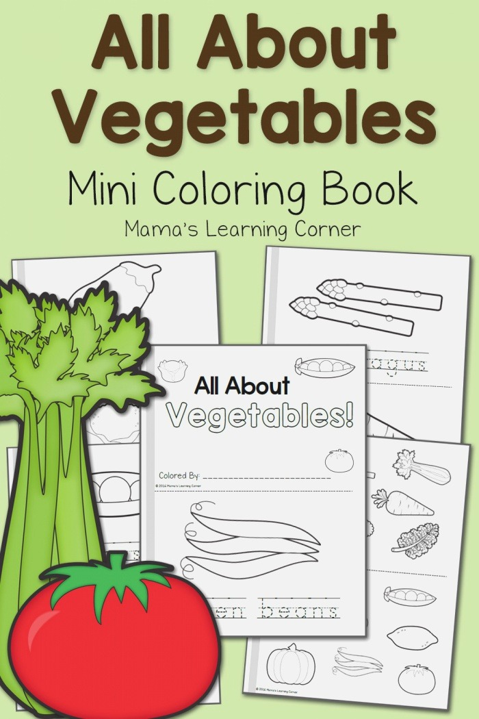 Ve Able Coloring Pages Mamas Learning Corner