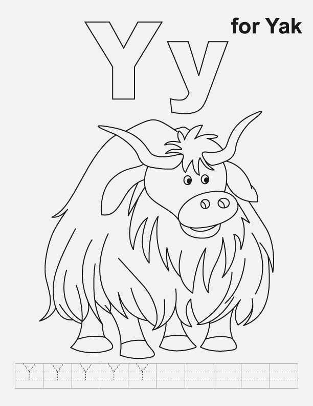 Y is for Yak Abc Animal Crafts