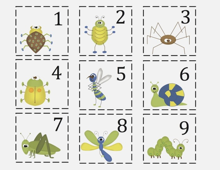 4 Best Of Bug Preschool Printables Insect Action