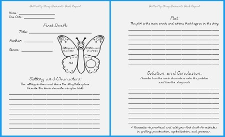 4 Best Of Printable butterfly Story butterfly