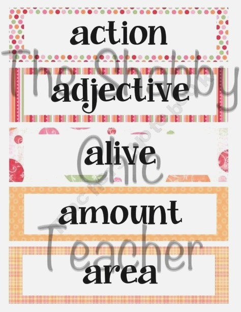 4th Grade High Frequency Word Cards Set 1 with Images