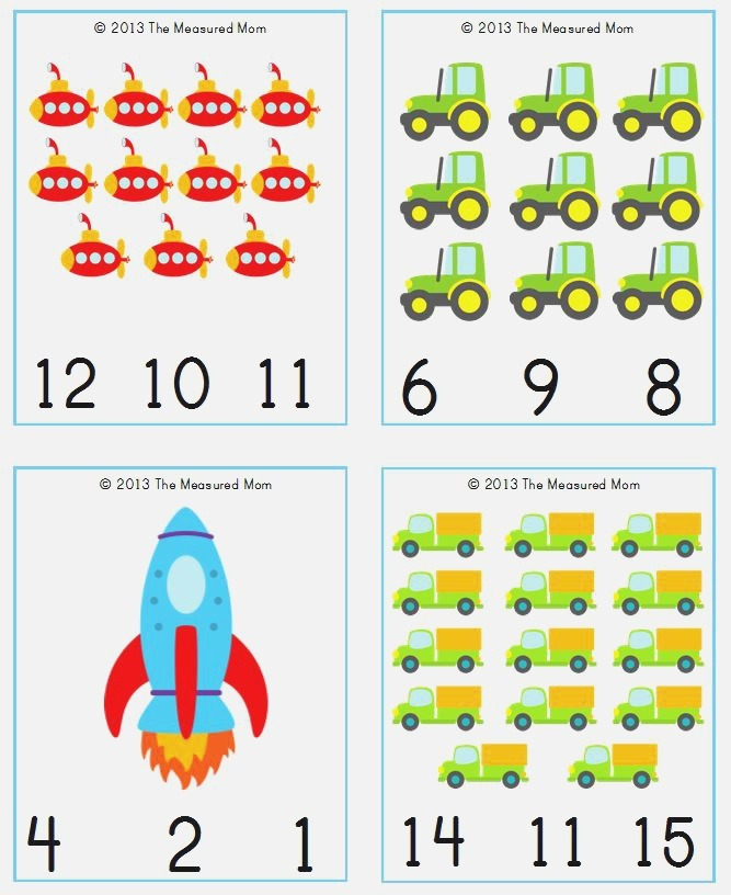 7 Best Of Printable Number Cards 1 20 Practice