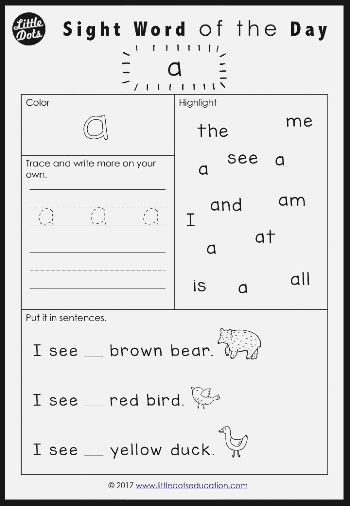 Brown Bear Brown Bear What Do You See Sight Words
