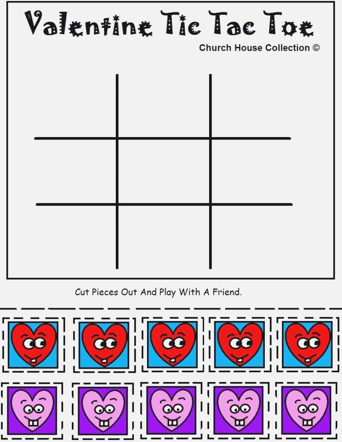 Church House Collection Blog Printable Valentine Tic Tac