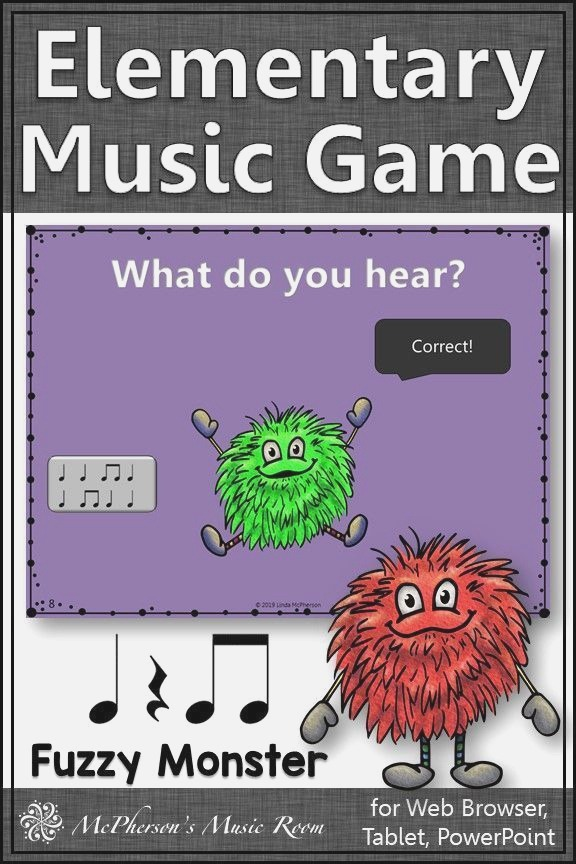 Eighth Notes Interactive Rhythm Game assessment Fuzzy