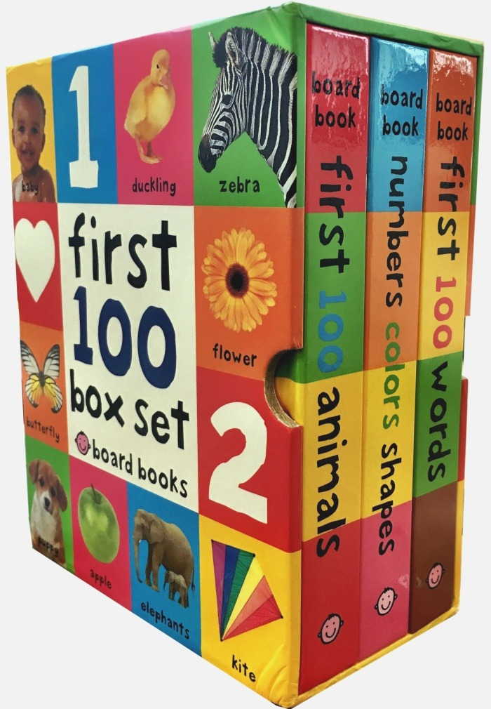 First 100 Animals First 100 soft to touch Board Books Board