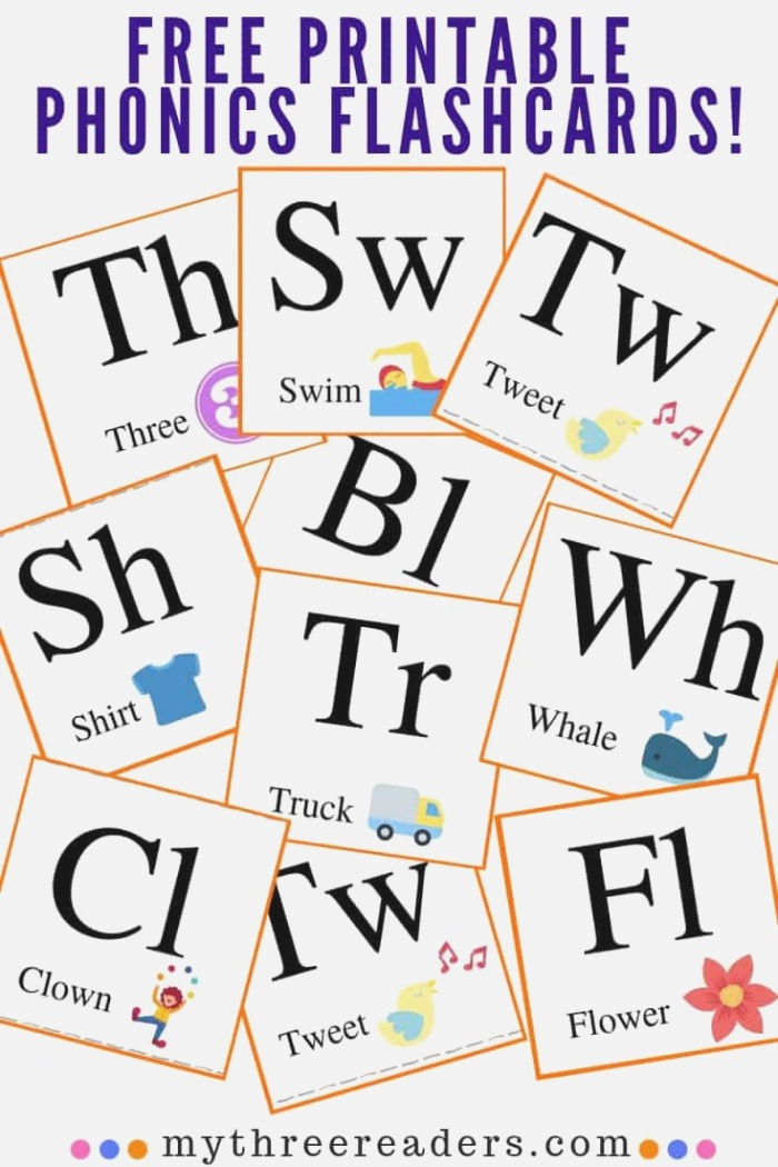 Free Printable Flashcards with 25 Consonant