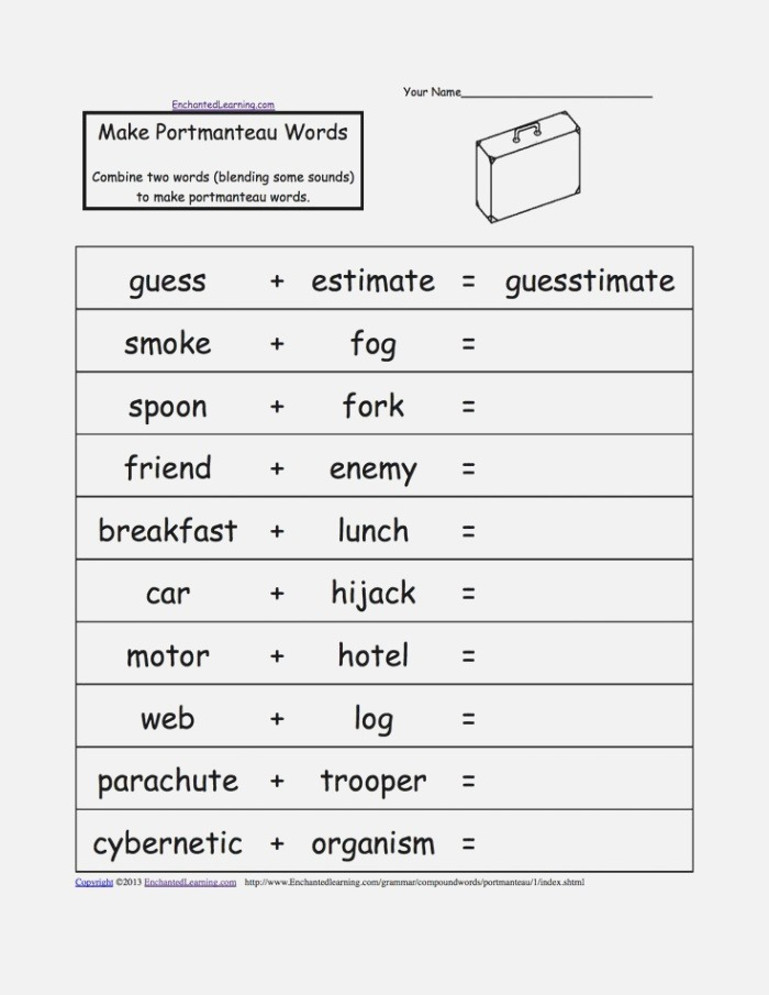 Great Alphabetical List Of Pound Words