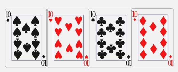 How Many 10 Cards are In A Deck Of Card Quora