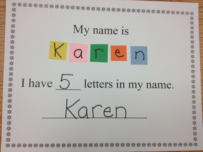 How Many Letters are In Your Name Counting
