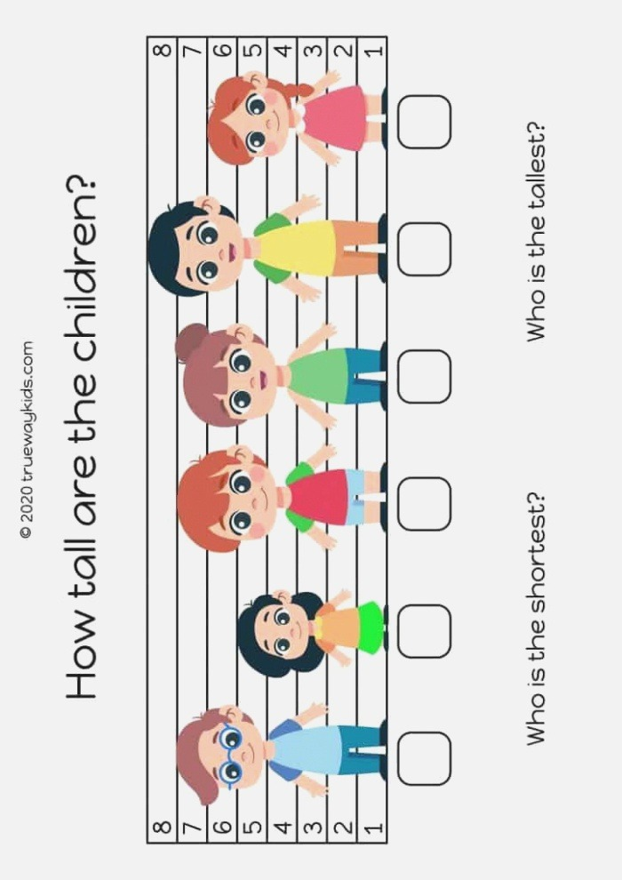 How Tall and the Children Learn Tallest and Shortest