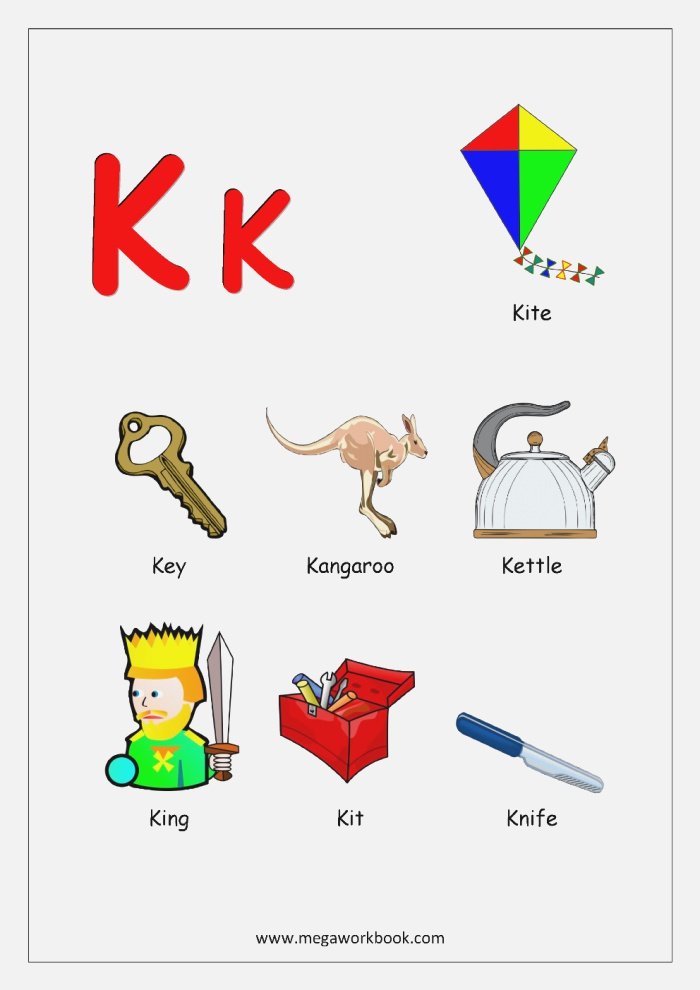 Image Result for Words for Alphabets A to Z