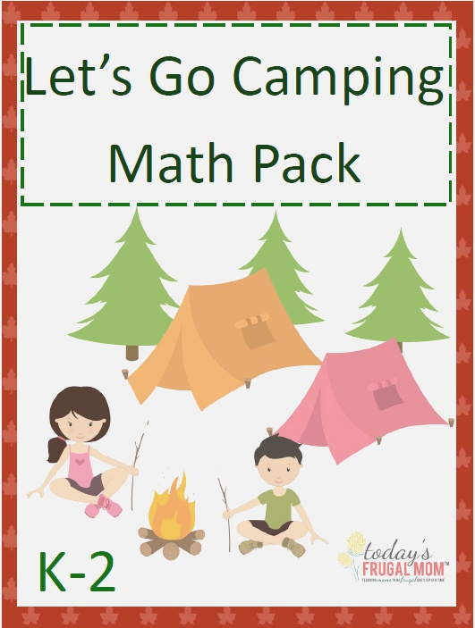 Inside This Free Let S Go Camping Math Pack You Ll Find 30