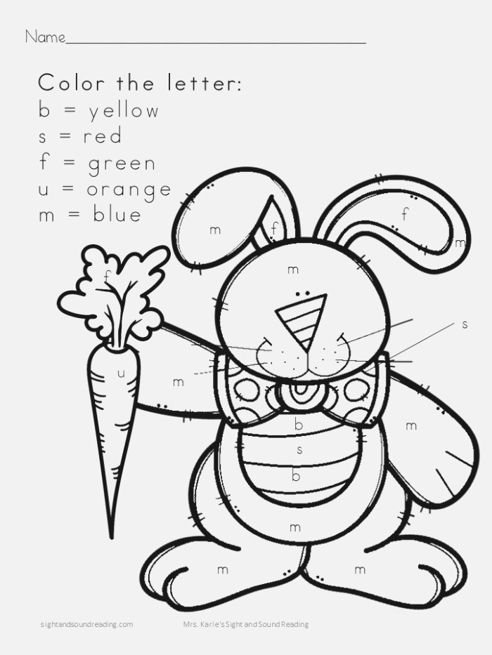 It's Not Easy Being A Bunny – Worksheets Digital