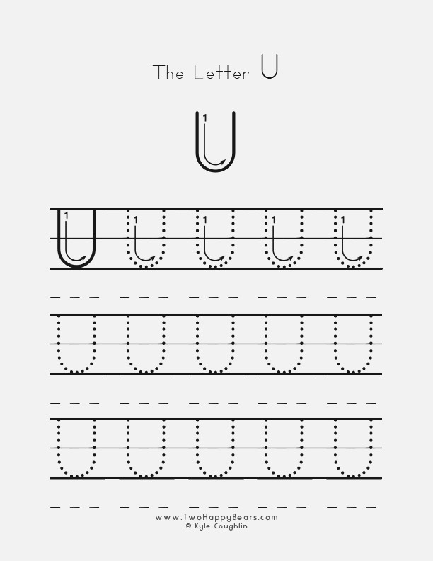 Learn the Letter U with Fluffy and Ivy