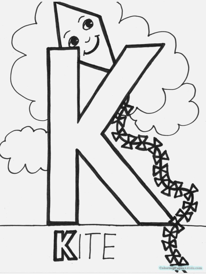 Letter K Drawing at Getdrawings