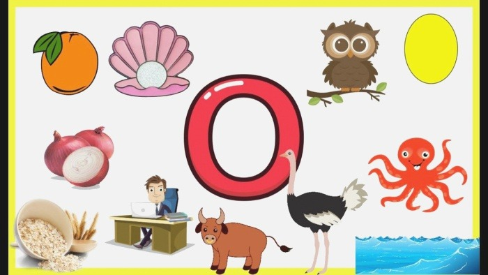 Letter O Things that Begins with Alphabet O Words Starts