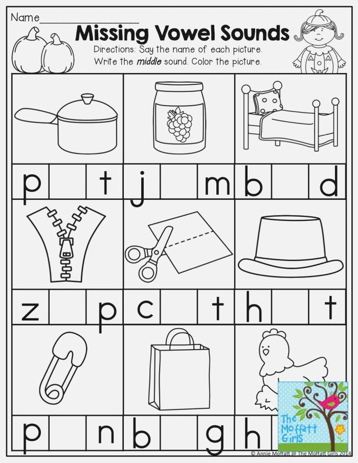 Middle sounds and tons Of Other Helpful Printables