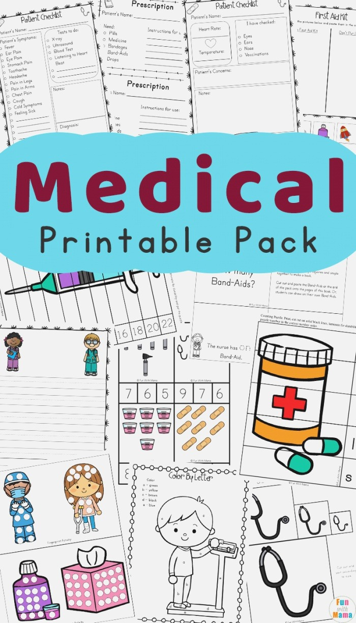 Munity Helpers Kids Doctor Kit and Doctor Games for Kids