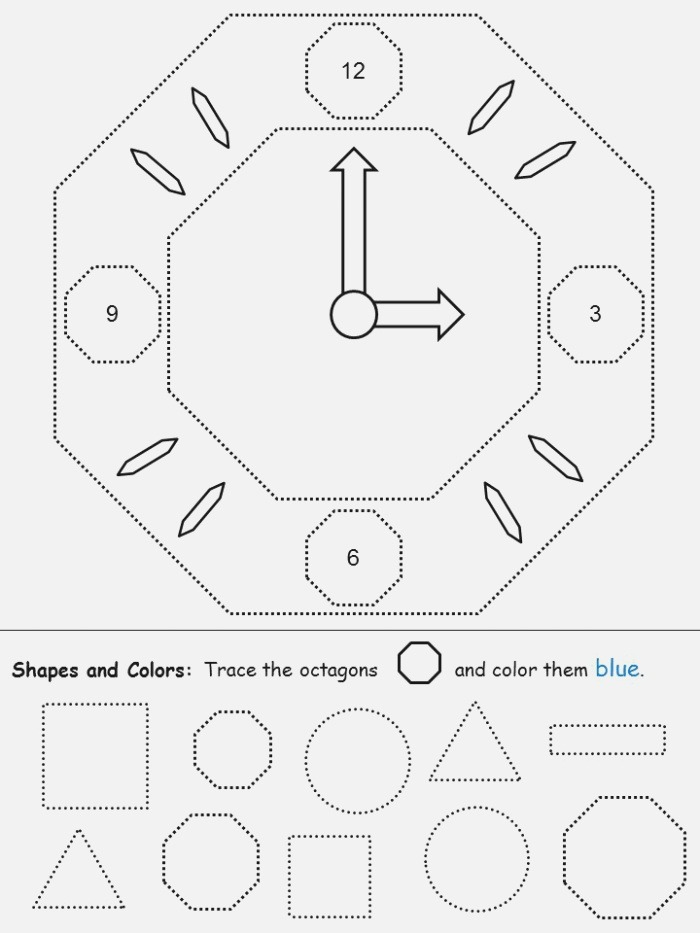 Octagon Picture Tracing
