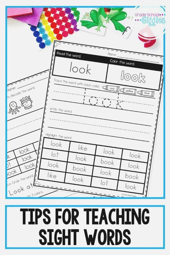 Quick and Easy Ideas to Improve How You Teach Sight Words