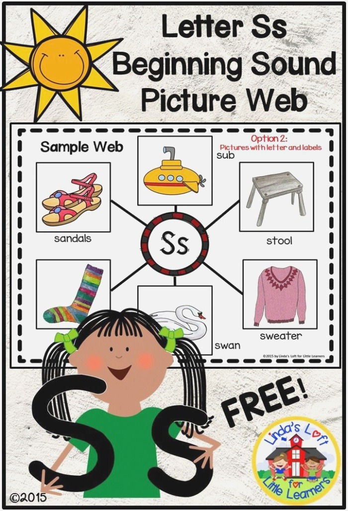 these Beginning sound Webs are Perfect for Introducing