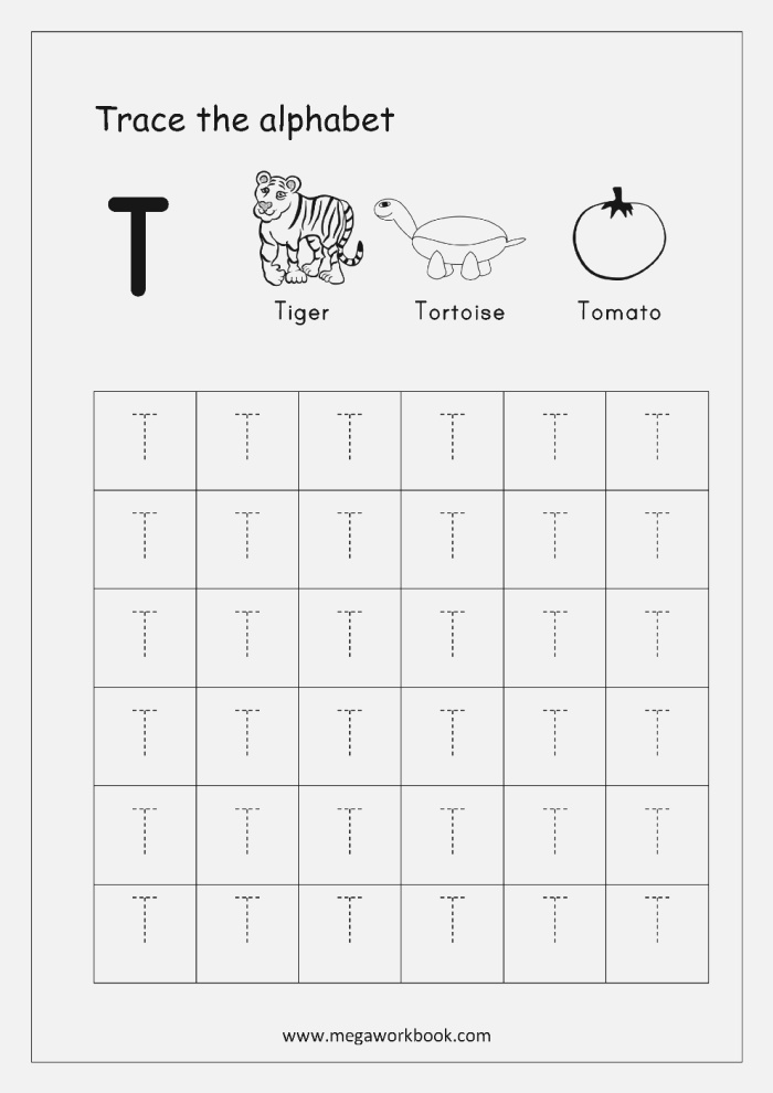 Tracing Letters Alphabet Tracing Capital Letters