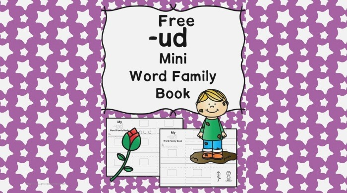 Ud Cvc Word Family Worksheets Make A Word Family Book