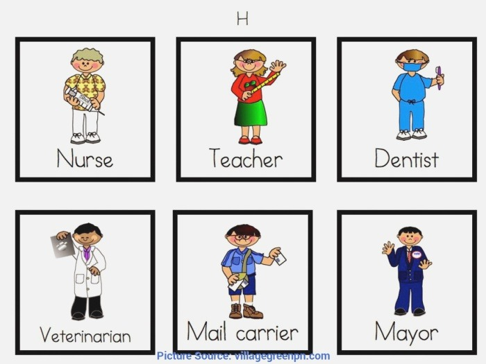 Unusual Lesson Plan About Munity Helpers for