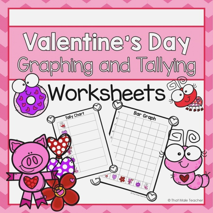 Valentine S Day Graphing and Tallying Worksheets