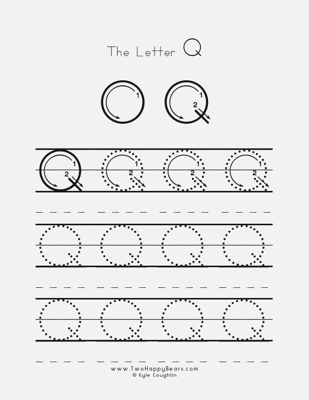 15 Educative Letter Q Worksheets Kitty Baby Love