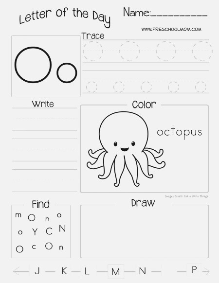 59 Best Letter O Activities Images On Pinterest